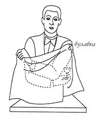 Фокусы с платком - Секреты фокусов 11