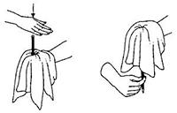 Фокусы с платком - Секреты фокусов 19